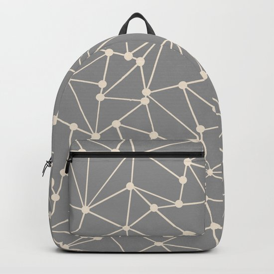 Ab Out Spots Grey Backpack