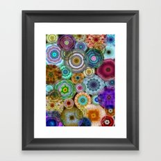 Flowery Meadow 3 Framed Art Print