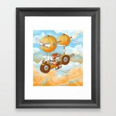 Air Cycle Championship 1916 Framed Art Print