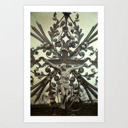 nuestro salvador Art Print