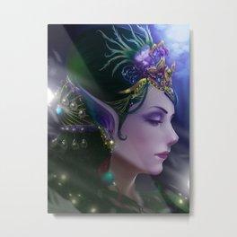 Elf queen Metal Print