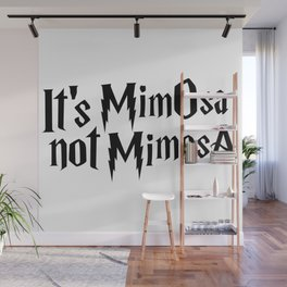 Magic cute Mimosa Wall Mural