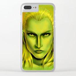 Green Legolas Greenleaf Clear iPhone Case