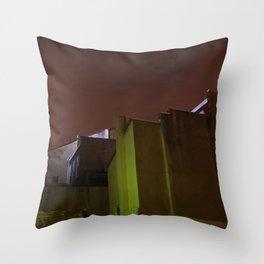 wall 431 Throw Pillow