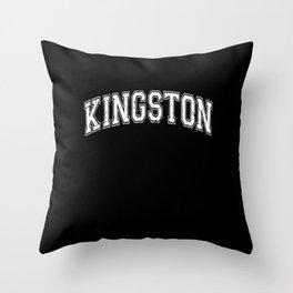 Kingston City Capital of Jamaica Throw Pillow