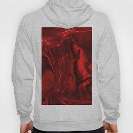 Red silk Hoody