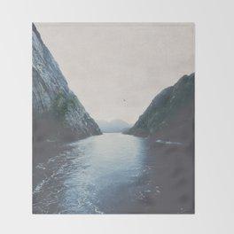 silence II Throw Blanket