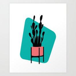 Cactus Plant Art Print