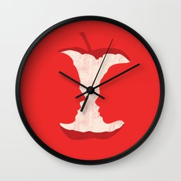 The apple of my eye Wall Clock