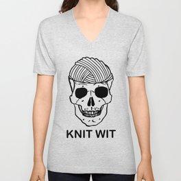 knitwit Unisex V-Neck