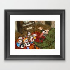 Story Time Framed Art Print