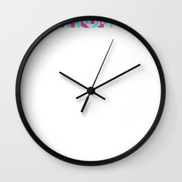 Young Talent Movement Drum n Bass Rave Wall Clock
