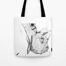 Rinoceronte Tote Bag