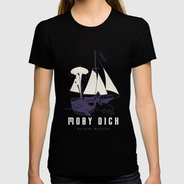 Moby Dick product | Anti-Whaling print Gift. T-shirt