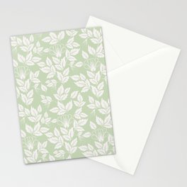 Leaves Pattern 3 Stationery Cards