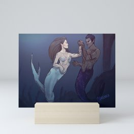Mermaid Feysand Mini Art Print