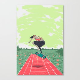 [ LET YOURSELF GO! ] the vietnamese lady Canvas Print