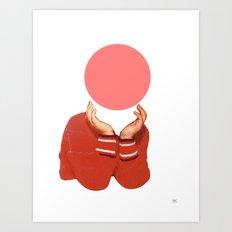 Where is my mind? Art Print