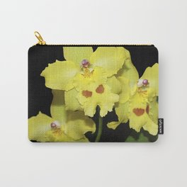 Glorious Golden Orchid - Odontonia Yellow Parade Alpine Carry-All Pouch