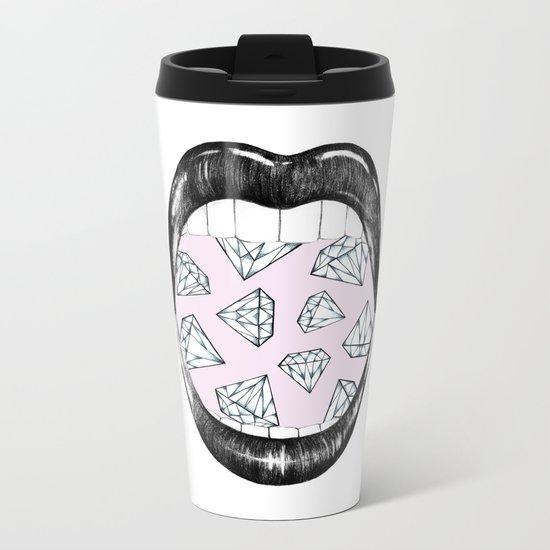 I Want More Metal Travel Mug