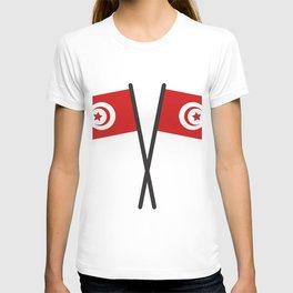 Tunisia flag T-shirt