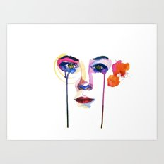 Such great hights Art Print