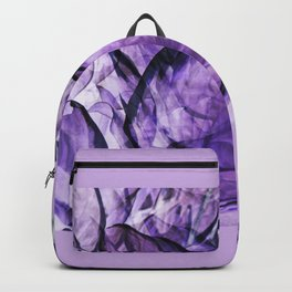 Hosta Leaves Abstract Backpack