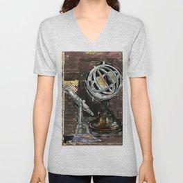 Astrolabe, 3 Unisex V-Neck