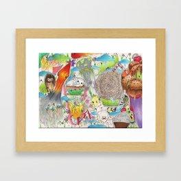 CompleteChaos Framed Art Print