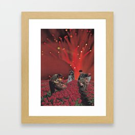Red King Crab Framed Art Print