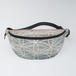 Mandala Flower of Life Sea Fanny Pack