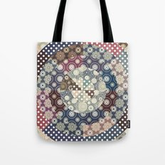 Playing with circles II Tote Bag