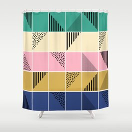 Mosaic #1 Shower Curtain