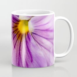 Purple Pansy Flower Close-up #decor #society6 #buyart Coffee Mug