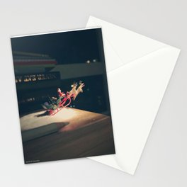 Holiday spirit lifting off Stationery Cards