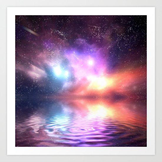Abstract Universe Art Print