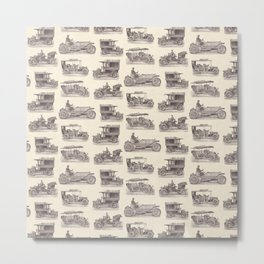 Antique German Automobiles Metal Print