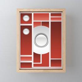 Art Deco Camera Framed Mini Art Print
