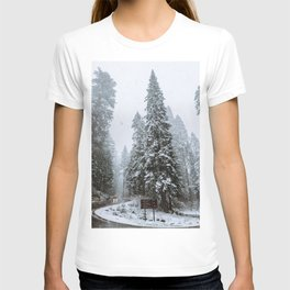 Sequoia Winter Wonderland II T-shirt