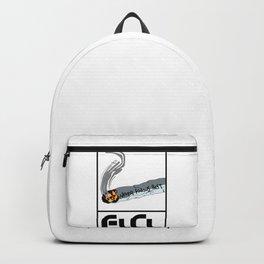 FLCL Never Knows Best Cigarette Backpack