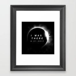 Total Solar Eclipse August 21 2017 Framed Art Print