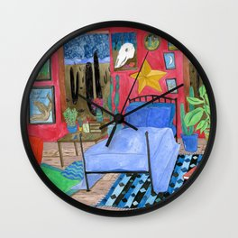 Desert Bedroom Wall Clock