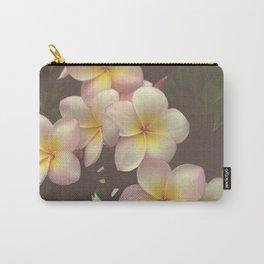 Frangipani Hawai Carry-All Pouch