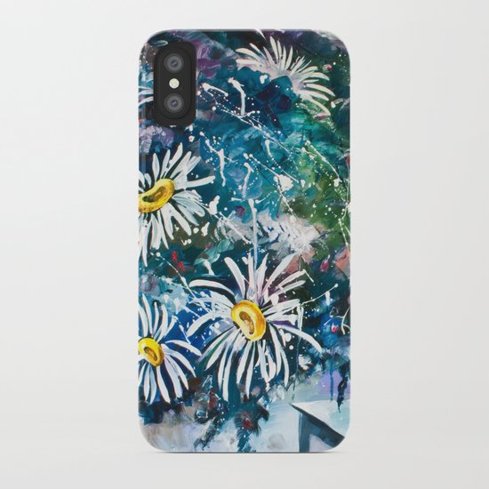 Flowered Expression iPhone Case