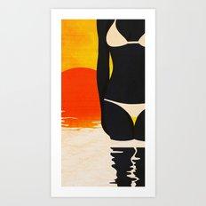 SUMMER-2 Art Print