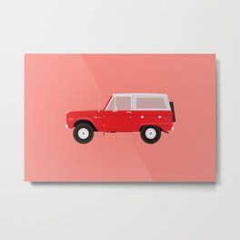 Ford Bronco Metal Print