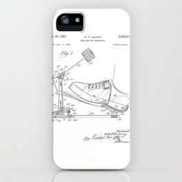 Drum Beating Mechanism Patent iPhone Case