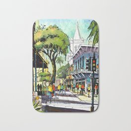 Duval Street, Key West Bath Mat