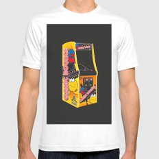 Mum, can I have 10p for another go? White MEDIUM Mens Fitted Tee