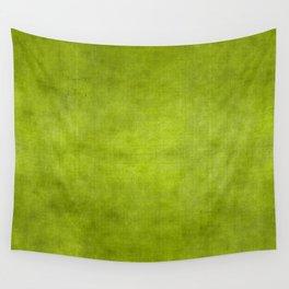 """""""Summer Fresh Green Garden Burlap Texture"""" Wall Tapestry"""